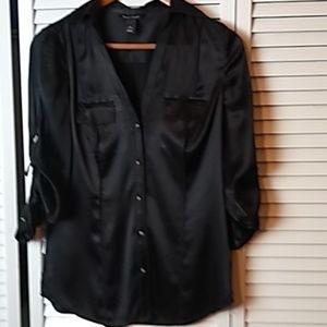 White House Black Market Ladies Tailored Shirt